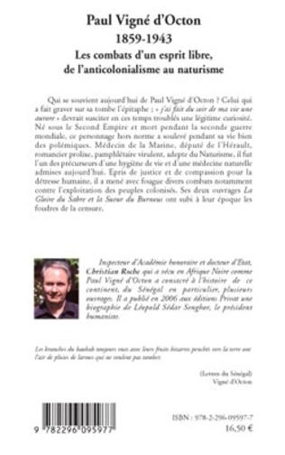 4eme Paul Vigné d'Octon (1859-1943)