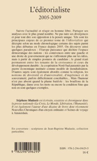 4eme L'éditorialiste (2005-2009)
