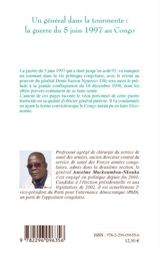4eme Un général dans la tourmente: la guerre du 5 juin 1997 au Congo