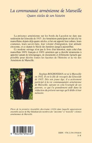 4eme La communauté arménienne de Marseille