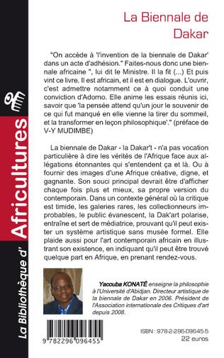 4eme La biennale de Dakar
