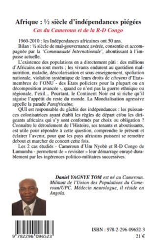 4eme Afrique demi-siècle d'indépendances piégées