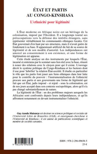 4eme Etats et partis au Congo-Kinshasa