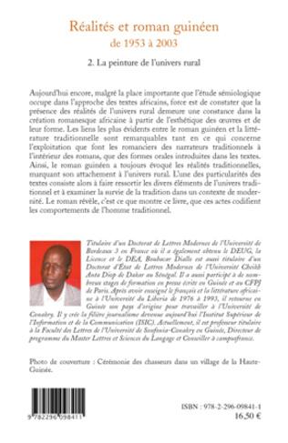 4eme Réalités et roman guinéen de 1953 à 2003 T2