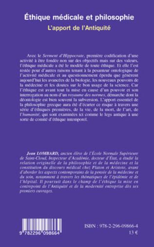 4eme Ethique médicale et philosophie