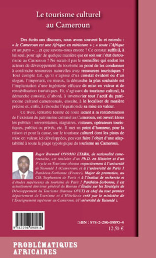 4eme Le tourisme culturel au Cameroun