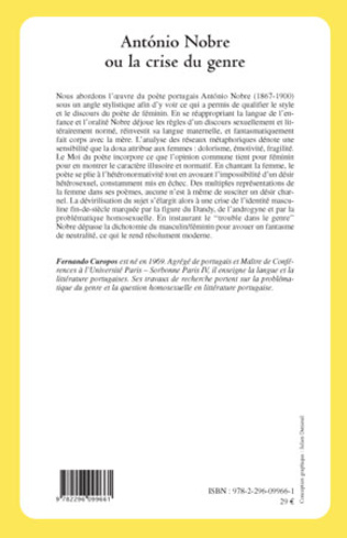 4eme Antonio Nobre ou la crise du genre