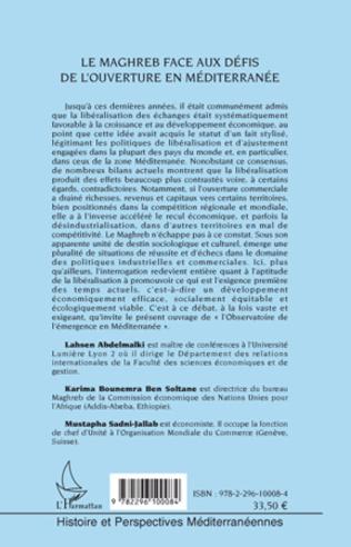 4eme Le Maghreb face aux défis de l'ouverture en Méditerranée
