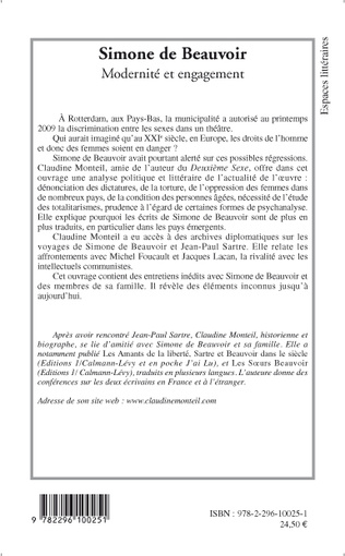 4eme Simone de Beauvoir