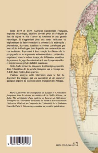 4eme Voyageurs français en Afrique équatoriale française