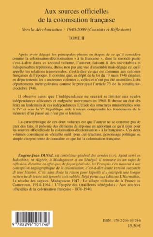 4eme Aux sources officielles de la colonisation française
