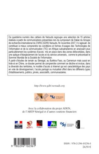 4eme Répartition spatiale des points d'accès et usages d'Internet dans une ville du Sud Ziguinchor en Casamance-Sénégal