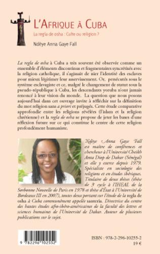 4eme L'Afrique à Cuba