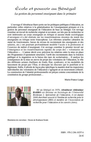 4eme Ecole et pouvoir au Sénégal