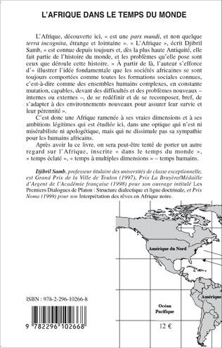 4eme L'Afrique dans le temps du monde
