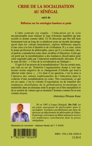 4eme Crise de la socialisation au Sénégal