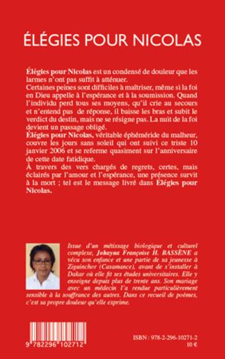 4eme Elegies pour Nicolas
