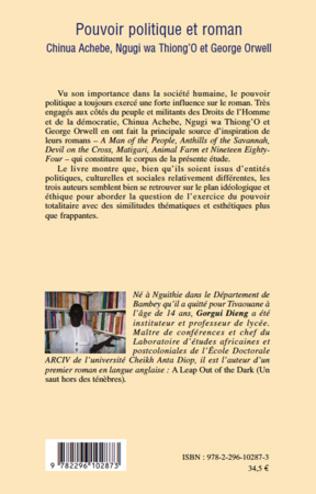 4eme Pouvoir politique et roman