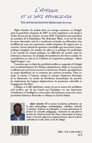 4eme L'Afrique et le défi républicain