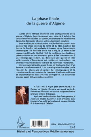 4eme La phase finale de la guerre d'Algérie