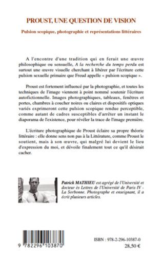 4eme Proust, une question de vision