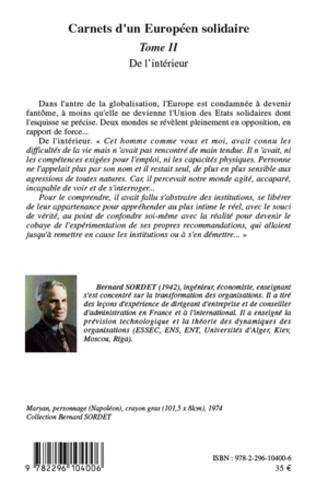 4eme Carnets d'un européen solidaire Tome 2