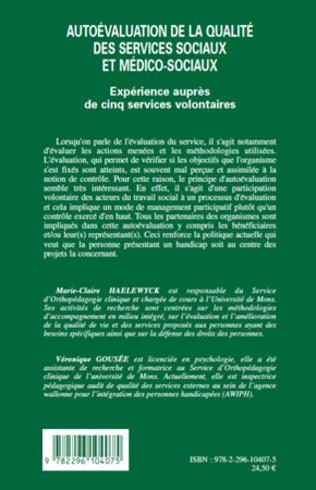 4eme Autoévaluation de la qualité des services sociaux et médico-sociaux