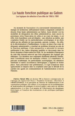4eme La haute fonction publique au Gabon