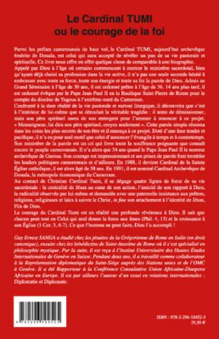 4eme Le Cardinal TUMI ou le courage de la foi
