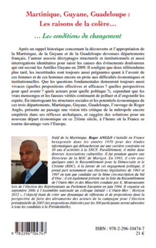 4eme Martinique, Guyane, Guadeloupe : Les raisons de la colère...