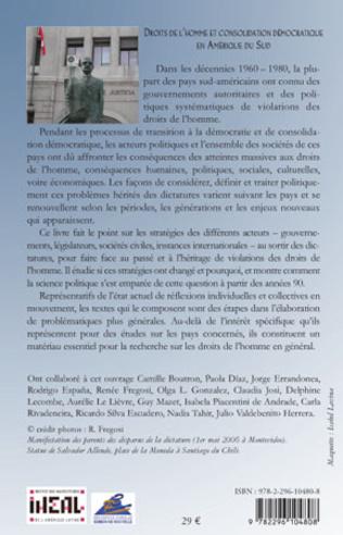 4eme Droits de l'homme et consolidation démocratique en Amérique du Sud
