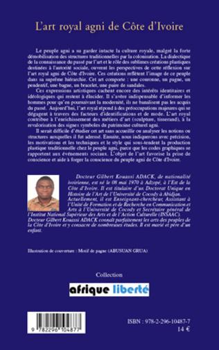4eme L'art royal agni de Côte d'Ivoire