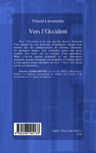 4eme VERS L'OCCIDENT   ROMAN