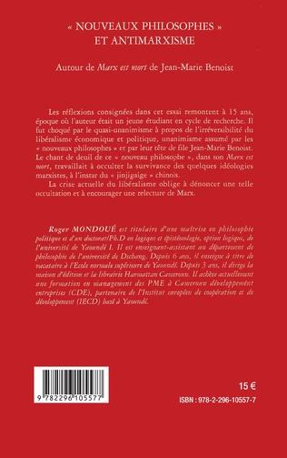 4eme Nouveaux philosophes et antimarxisme