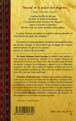 4eme Youssef et le palais des chagrins