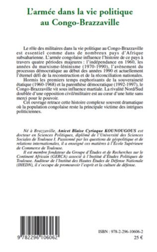 4eme L'armée dans la vie politique au Congo-Brazzaville