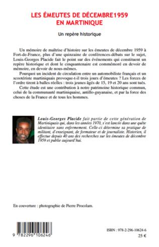 4eme Les émeutes de décembre 1959 en Martinique