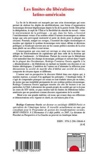 4eme Les limites du libéralisme latino-américain