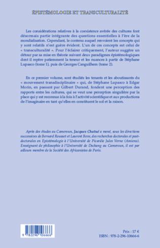 4eme Epistémologie et transculturalité