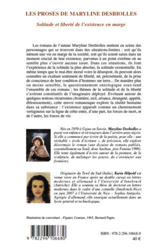 4eme Les proses de Maryline Desbiolles