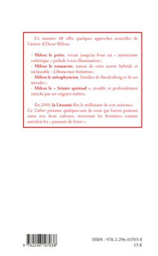 4eme Les Amis de Milosz