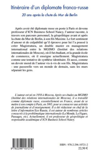 4eme Itinéraire d'un diplomate franco-russe