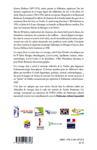 4eme Répertoire musical recueilli en Marais-Breton vendéen