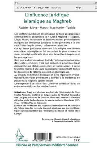 4eme L'influence juridique islamique au Maghreb