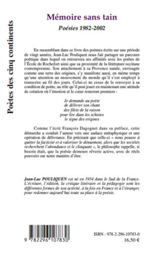 4eme Mémoire sans tain