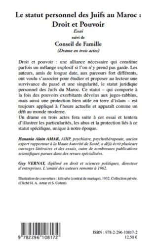 4eme Le statut personnel des Juifs au Maroc : Droit et Pouvoir
