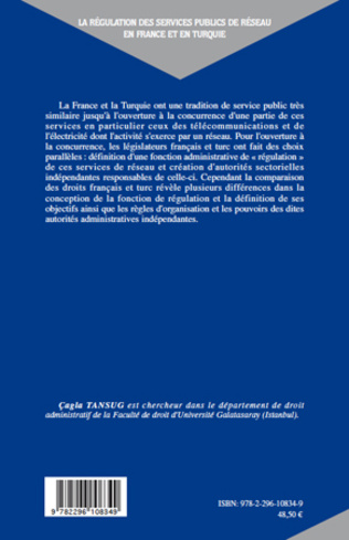 4eme La régulation des services publics de réseau en France et en Turquie