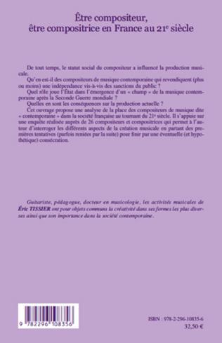 4eme Etre compositeur, être compositrice en France au 21e siècle