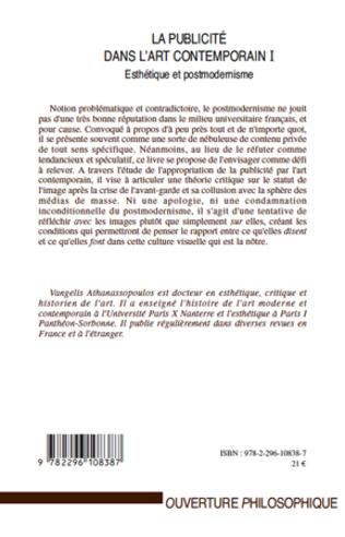 4eme La publicité dans l'art contemporain (T I)
