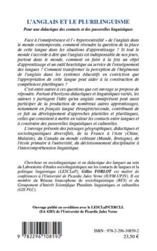 4eme L'anglais et le plurilinguisme